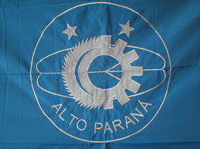[Flag of Alto Paraná, PR (Brazil)]