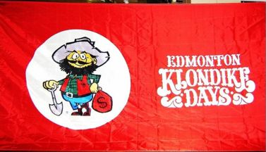 flag of Edmonton Klondike Days