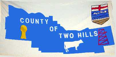 [flag of Two Hills County]