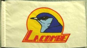 [flag of Lacombe]