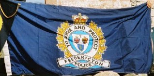 [flag of Fredericton Police Force]