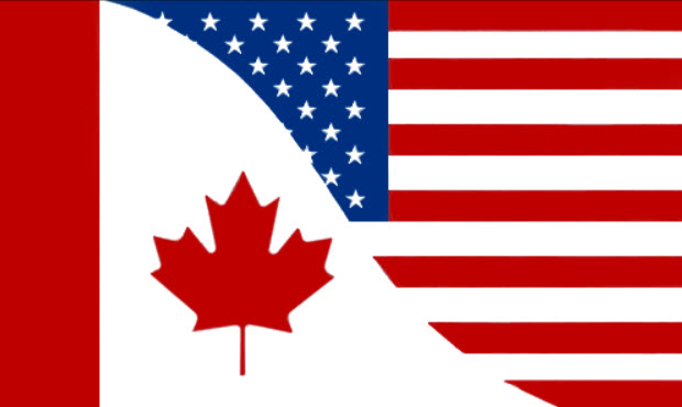"""Image result for canada and us flag"""""""