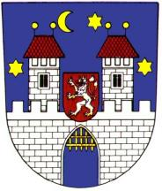 [Písek town coat of arms]