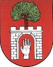[Náramec coat of arms]