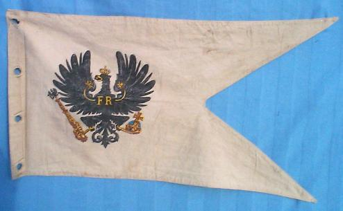 Prussian cuirasser NCO lance pennant