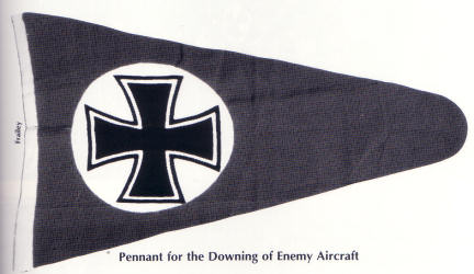 [Pennant for the Downing of Enemy Aircraft]