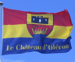 [Flag of Chateau-d'Oleron]