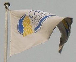 [Cheshire County Council flag]