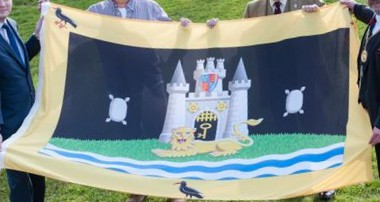 [Banner of arms of Roehampton University]