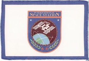 [International Space Station Flag]