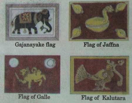 [Ancient provincial flags of Sri Lanka]