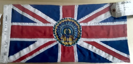 [British Governor General flag]