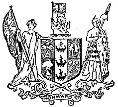 [ New Zealand's First Coat of Arms ]