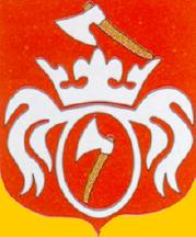[Trzcinica coat of arms]