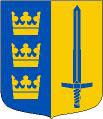 [Swedish Reserve Officers Federation flag]