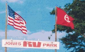 Red flag at RV Park