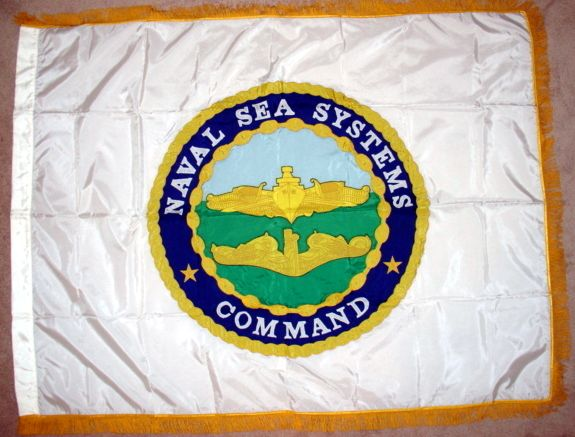 [Naval Sea Systems Command flag]