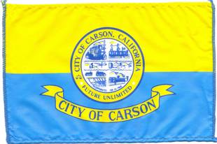 [flag of City of Carson, California]