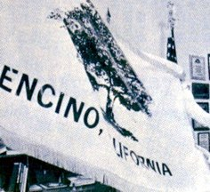 [flag of Encino, California]