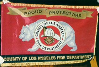 [Flag of Los Angeles County Fire Dept]