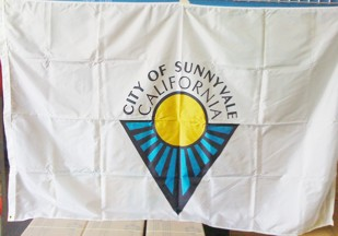 [flag of City of Sunnyvale, California]