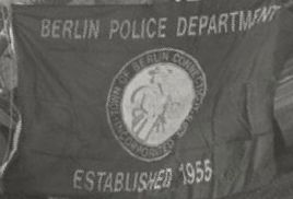 [flag of Berlin Police Department, Connecticut]