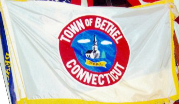 [flag of Bethel, Connecticut]