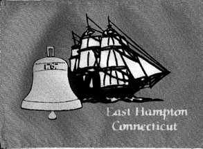 [flag of East Hampton, Connecticut]