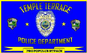 [Temple Terrace Police flag, Florida]