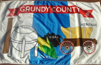 [Grundy County, Illinois flag]