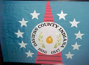 [Flag of Daviess County, Indiana]