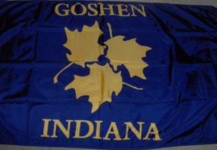 [Flag of Goshen, Indiana]