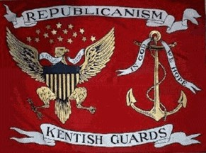 [Kentish Guards Flag]