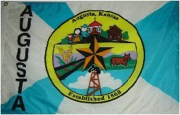 [Flag of Augusta, Kansas]