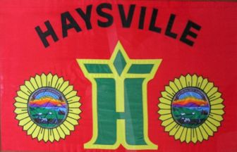 [Flag of Haysville, Kansas]