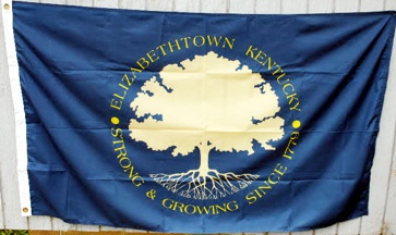 [Flag of Elizabethtown, Kentucky]