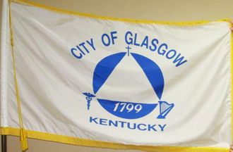 [Flag of Glasgow, Kentucky]