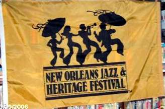 [Flag of New Orleans Jazz and Heritage Festival]