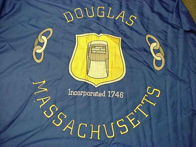 [Flag of Douglas, Massachusetts]