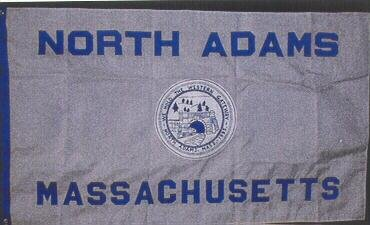 [Flag of North Adams, Massachusetts]