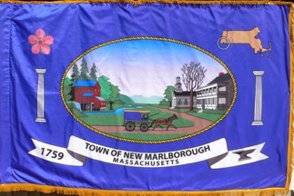 [Flag of New Marlborough, Massachusetts]