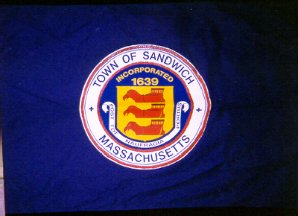 [Flag of Sandwich, Massachusetts]