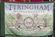 [Flag of Tyringham, Massachusetts]