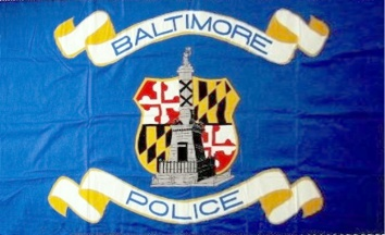 [Flag of Baltimore Police]