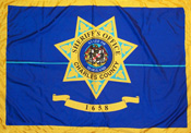 [Flag of Charles County Sheriff's Office, Maryland]