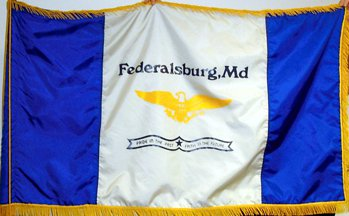 [Flag of Federalsburg, Maryland]