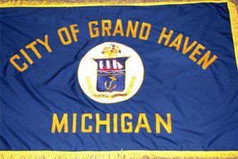 [Flag of Grand Haven, Michigan]