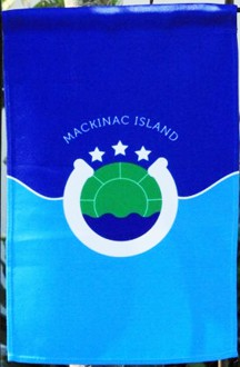 [Flag of Mackinac Island, Michigan]