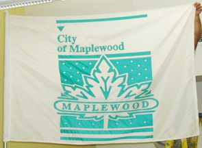 [flag of Maplewood, Missouri]