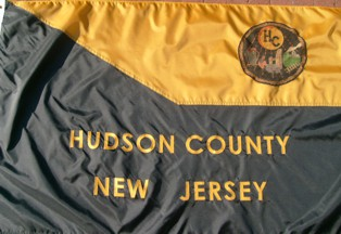 [Flag of Hudson County, New Jersey]